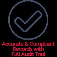 Full audit trail compliance management