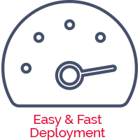 easy & fast deployment for our Regulatory Compliance system