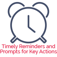 reminders & prompts for ComplyPortal Compliance system